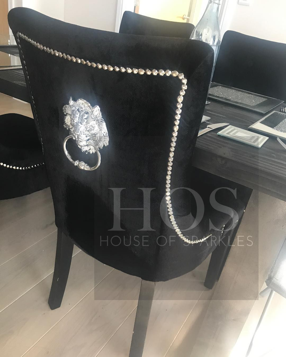 Black Lion Knocker Dining Chairs Sundays Are For Shopping For