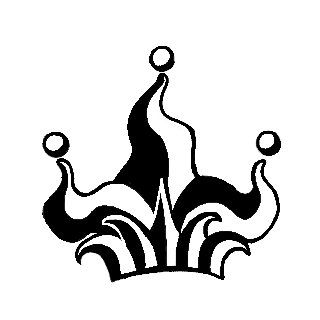 10+ Jester Hat Clipart Black And White