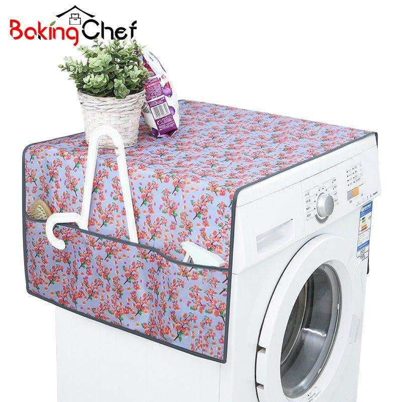 Bakingchef Flower Patterned Lavatrice Impermeabile Copre