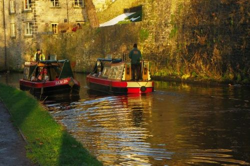 Skipton Castle Boat ride A picture of: Skipton, North Yorkshire