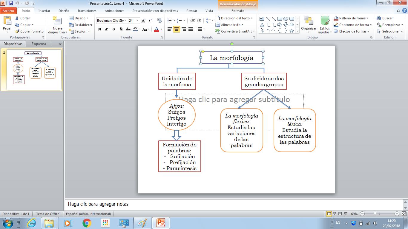 Es La Parte De La Gramática Que Estudia La Estructura
