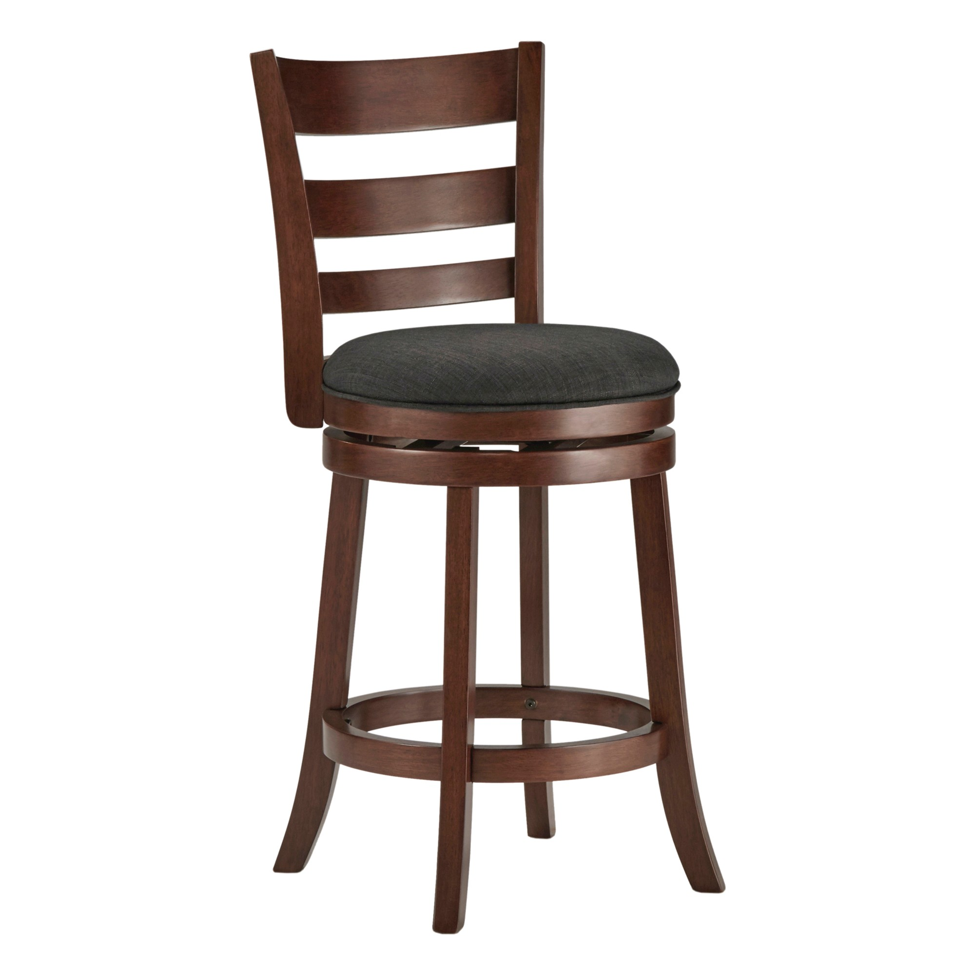 Magnificent Hooper Swivel Counter Stool Wood Homelegance Products Caraccident5 Cool Chair Designs And Ideas Caraccident5Info