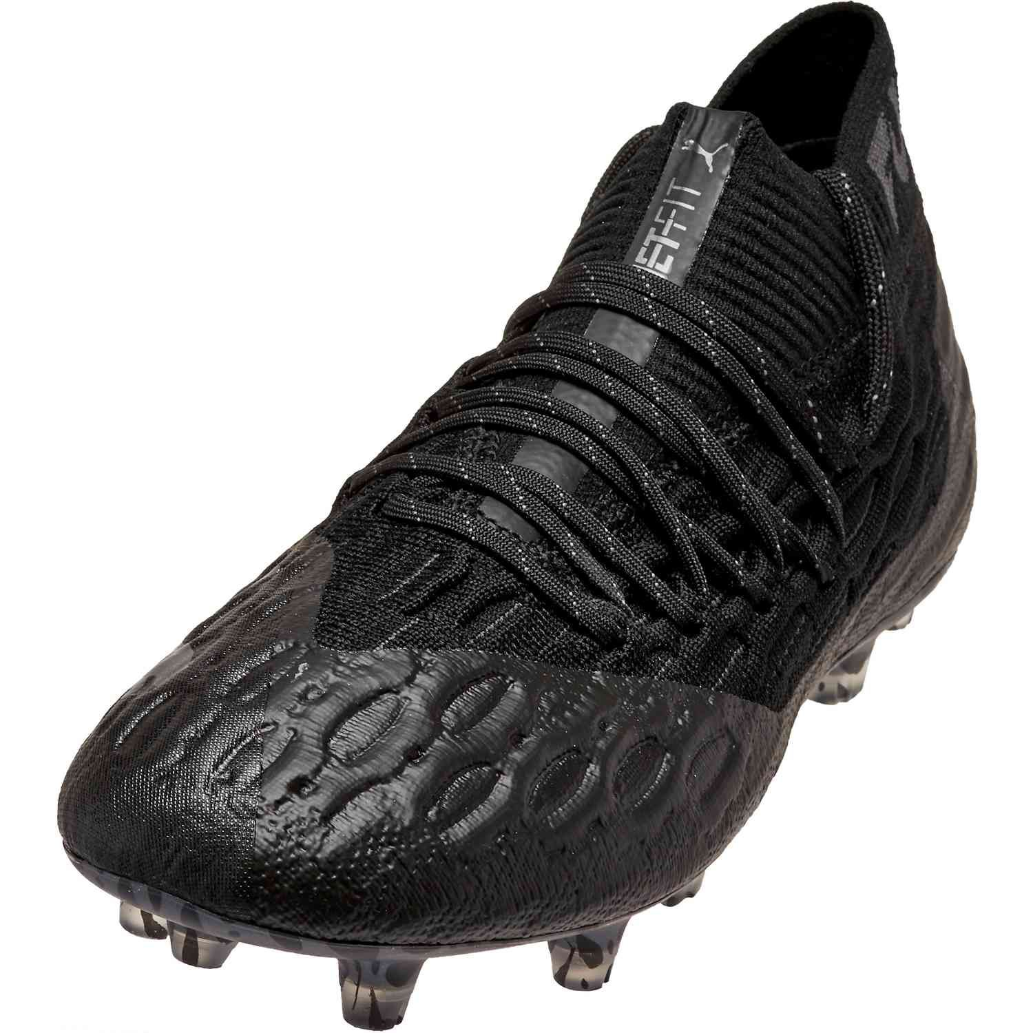 Puma Future 5 1 Fg Eclipse Pack Soccerpro In 2020 Puma All Black Sneakers Soccer Shoes