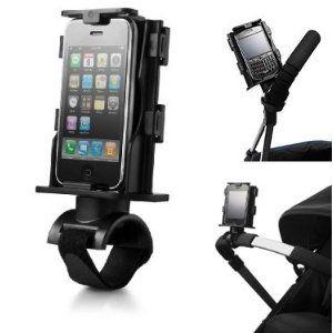 iPhone cradle... for strollers! #genius