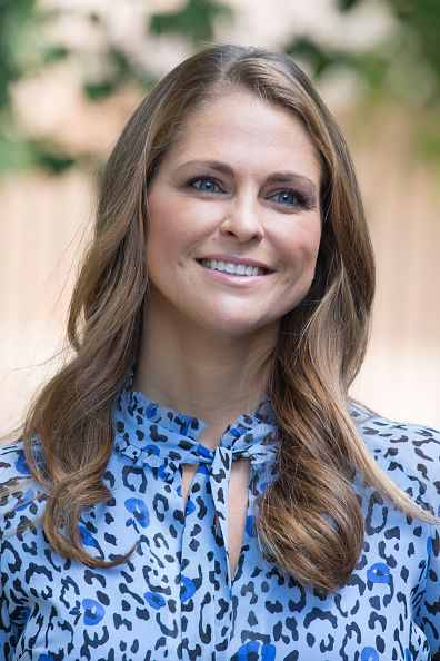 Princess Madeleine of Sweden attends Järvsömässan a folk fair for musicians on June 5 2016 in Stockholm Sweden
