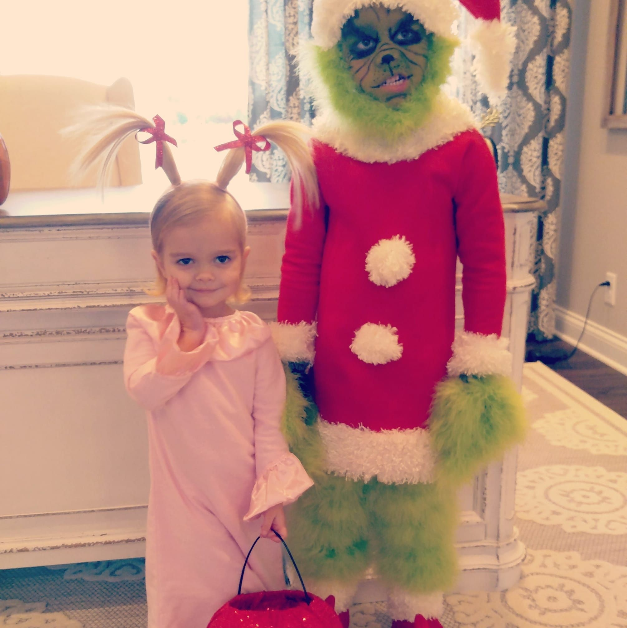Grinch And Cindy Lou Who Handmade Costume Cindy Lou Cindy