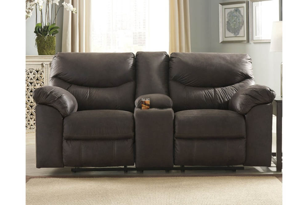 Boxberg Power Reclining Loveseat With Console Ashley Furniture Homestore Power Reclining Loveseat Power Recliners Love Seat