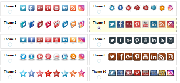 Floating Social Sharing WordPress