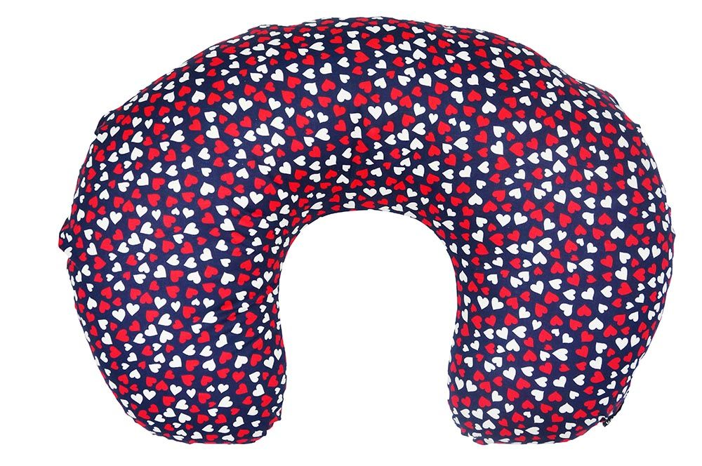 72324ee33fa Buy hearts printed baby nursing feeding pillow online in India at great  price.100% handmade with premium cotton. ✓Free Shipping. ✓COD Available.