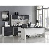 Found it at Wayfair Supply - Pursuit Standard Desk Office Suite