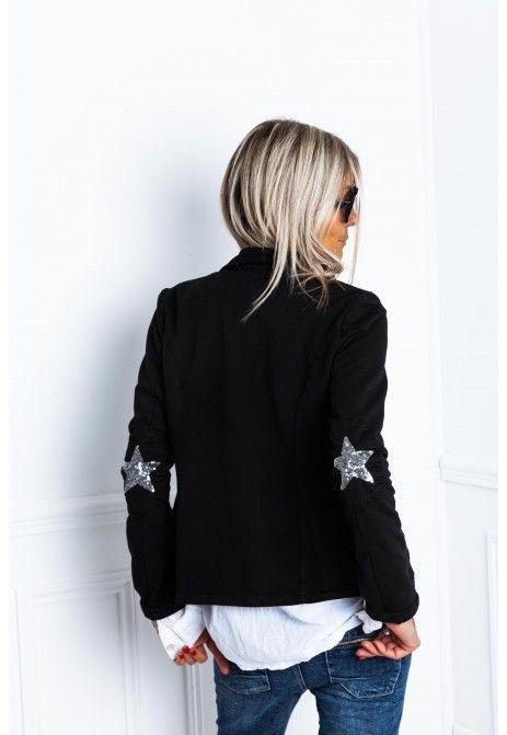 Veste blazer star noir