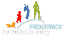 Town and Country Pediatrics. They are open 7 days a week and until 8 pm.