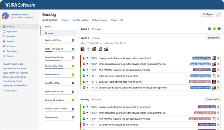 Atlassian Splits Its Jira Project Tracking Service Into 3 Standalone Offerings To Better S Project Management Tools Project Management Agile Project Management