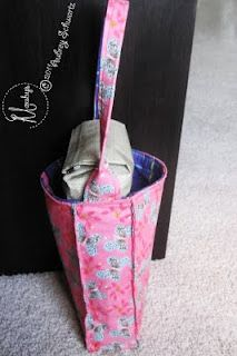 Re-Usable & Reversible Gift Bags from Mauby's.net