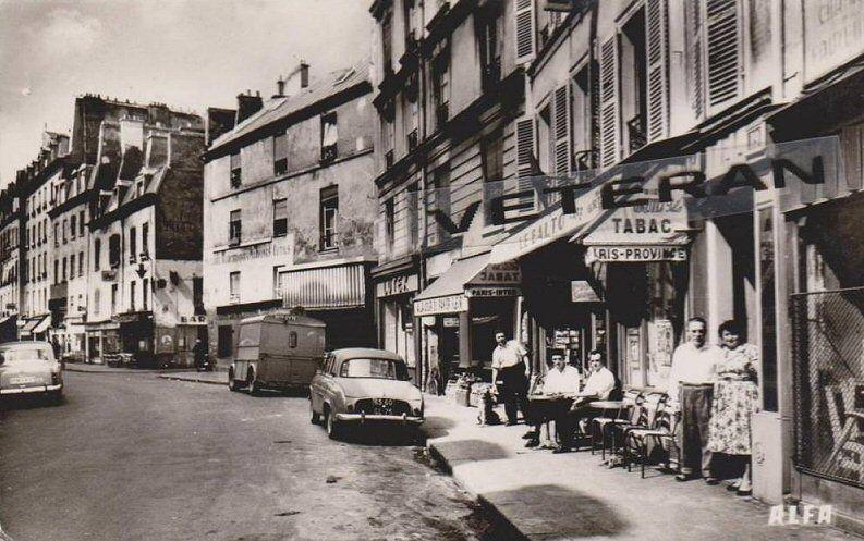 Le Centre Ville Rue De Charonne