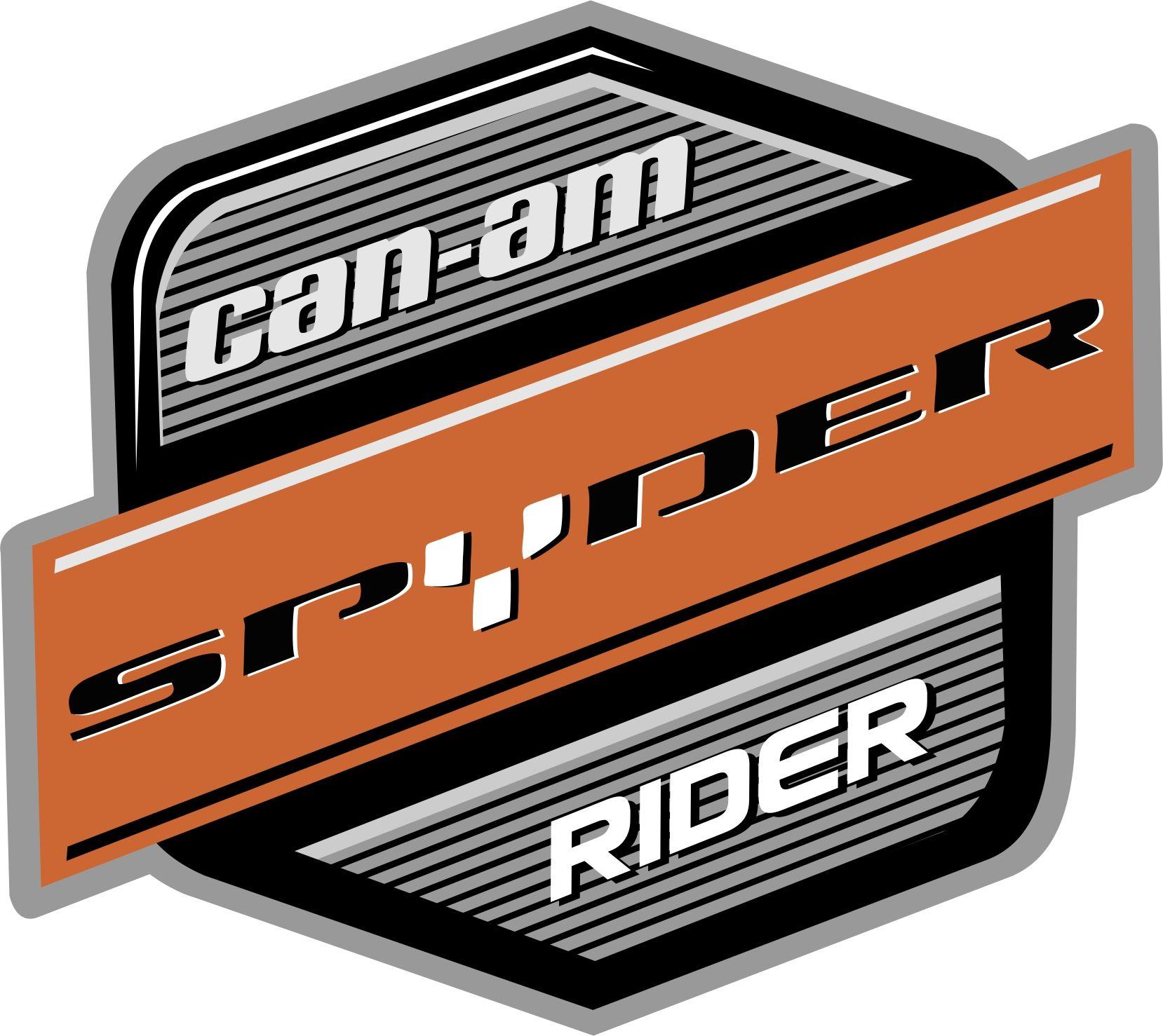 Can am spyder rider logo emblem