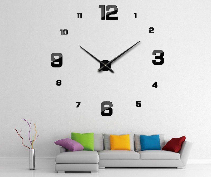 Diy 3d Wall Clock Wanduhren Wande Wohnzimmer