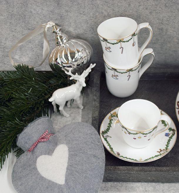 royal copenhagen star fluted christmas service. Black Bedroom Furniture Sets. Home Design Ideas