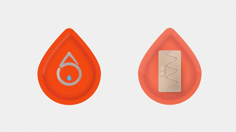 Sweati is a wearable patch that tracks glucose by