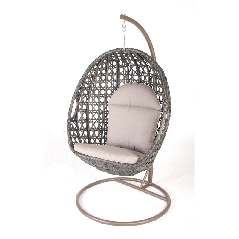 Mimosa Deluxe Wicker Hanging Egg Chair IN 3191320
