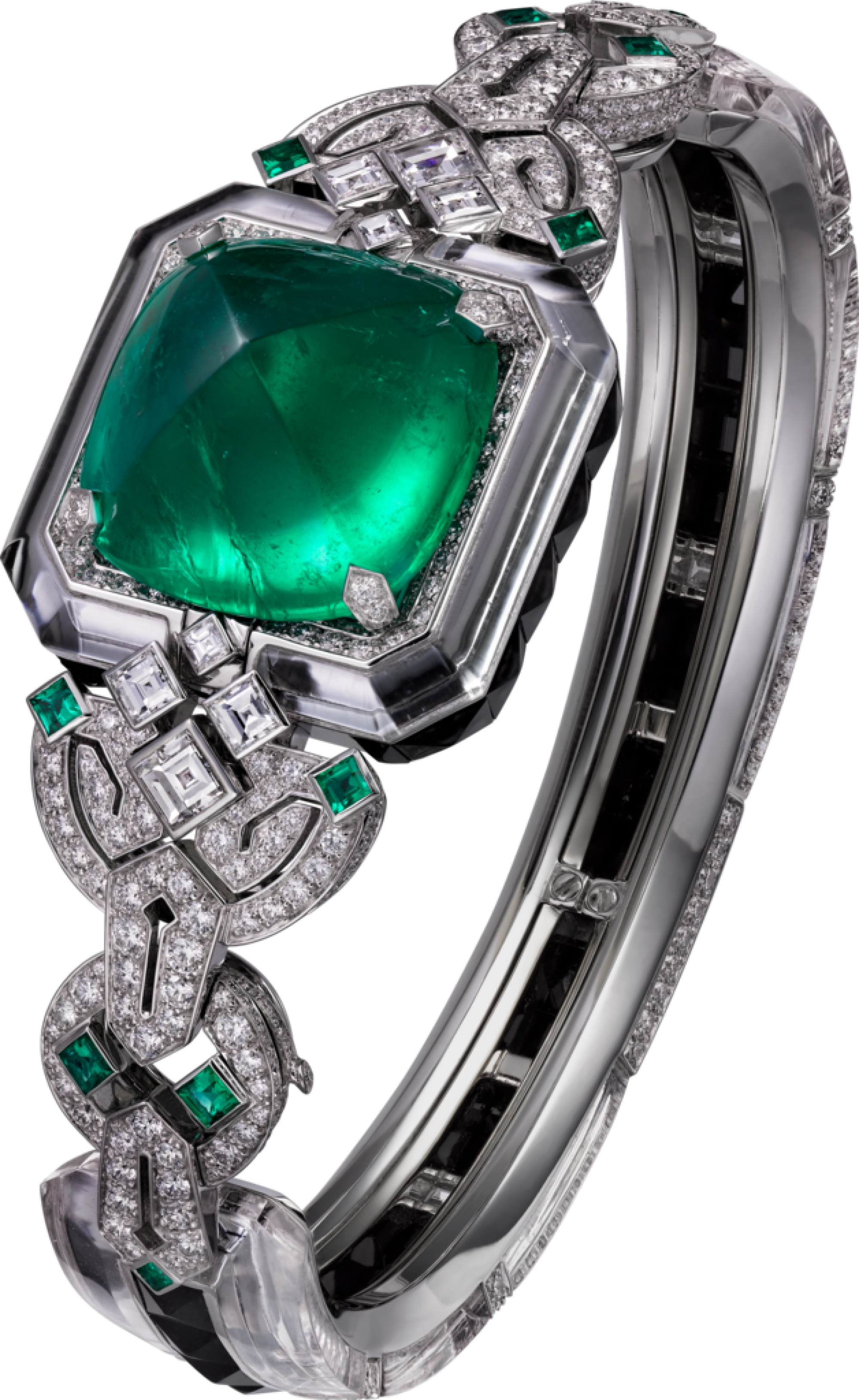 panthere diamond head product emerald eye panther cartier ring