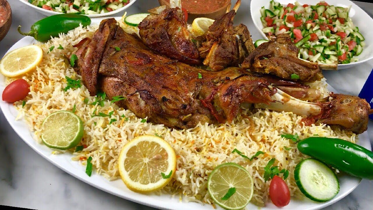 عمل الذ حنيذ يمني طرى جدا للعيد والعزايم Heneeth Roasted Meat Middle Eastern Recipes Yemeni Food South Indian Food
