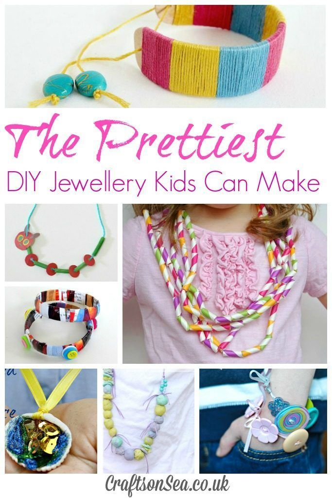 The Prettiest DIY Jewellery Kids Can Make | Tutorials, Crafts and Easy