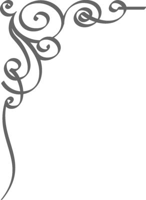 word clip art wedding embellishments | PSD Detail | Wedding Border ...