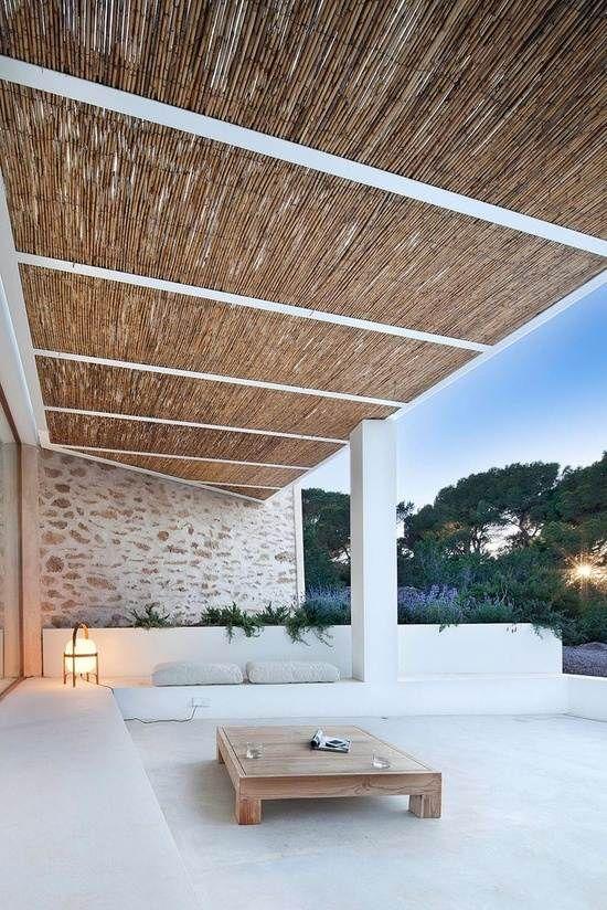 24 idées magnifiques de pergola couverte en bois dans le jardin ...