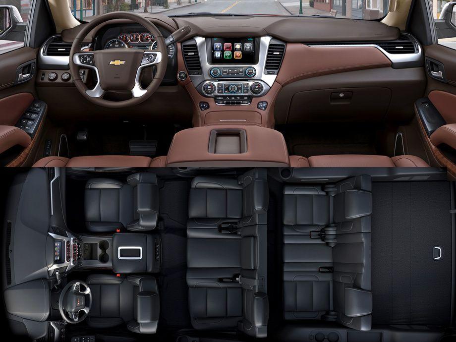Gm Predstavil Novye Modeli Tahoe Suburban I Yukon Chevrolet Tahoe Interior Chevrolet Tahoe Chevrolet Suburban