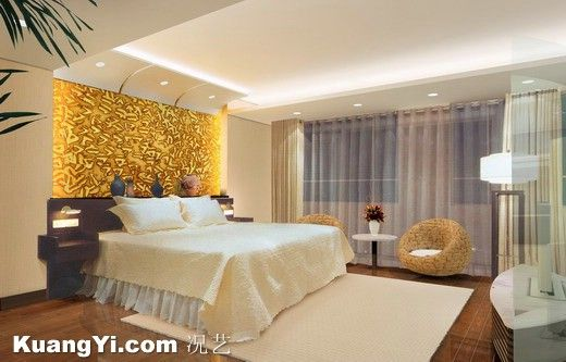 12 Plaster Of Paris Ceiling Designs For Bedroom