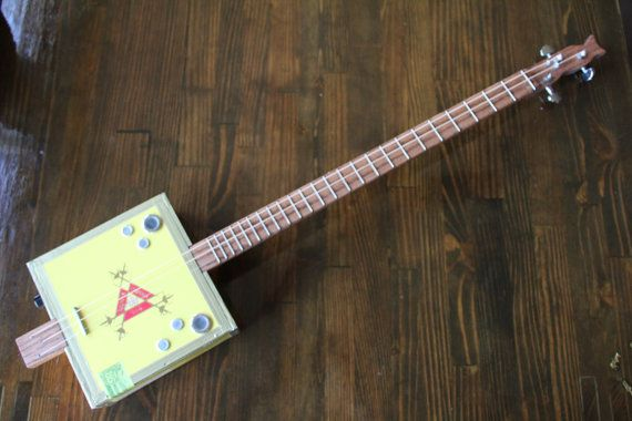 cigar box guitar 3 string by monkeypox on etsy blues box guitar cigar box guitar guitar. Black Bedroom Furniture Sets. Home Design Ideas
