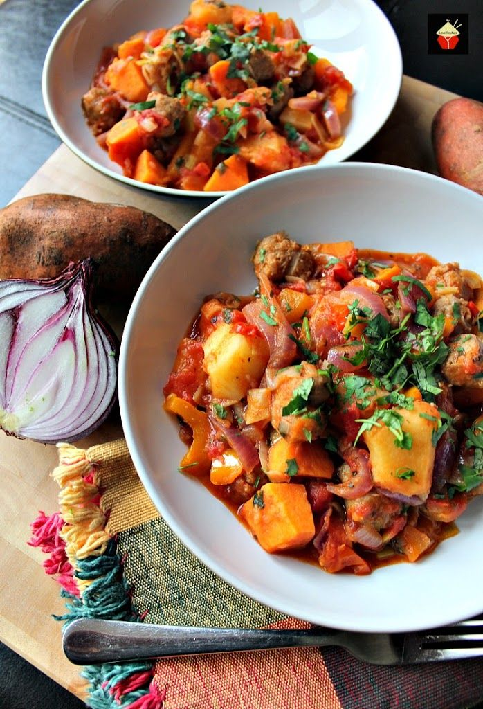 Sausage and Sweet Potato Dinner Recipe Potato dinner