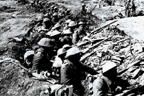 trench warfare ww1 and location - Google Search Trench Warfare ...