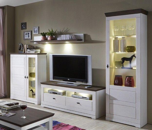 Holen Sie sich diese moderne und zugleich rustikale Wohnwand in Ihre ...
