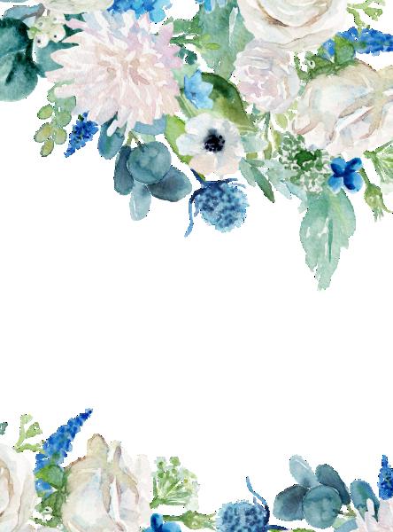 Classic White Flowers Navy The Wedding Of Invitation Zazzle Com In 2021 Flower Phone Wallpaper Blue Flower Png Flower Art