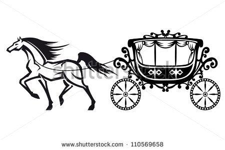 37+ Horse drawn carriage clipart ideas
