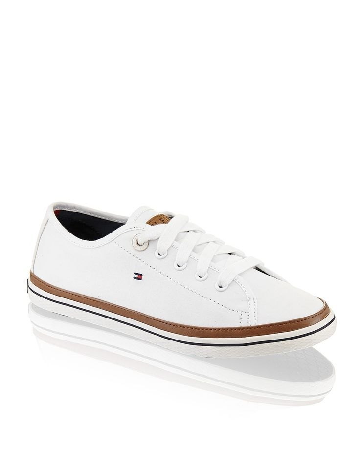 HUMANIC - White Tommy Hilfiger Sneaker
