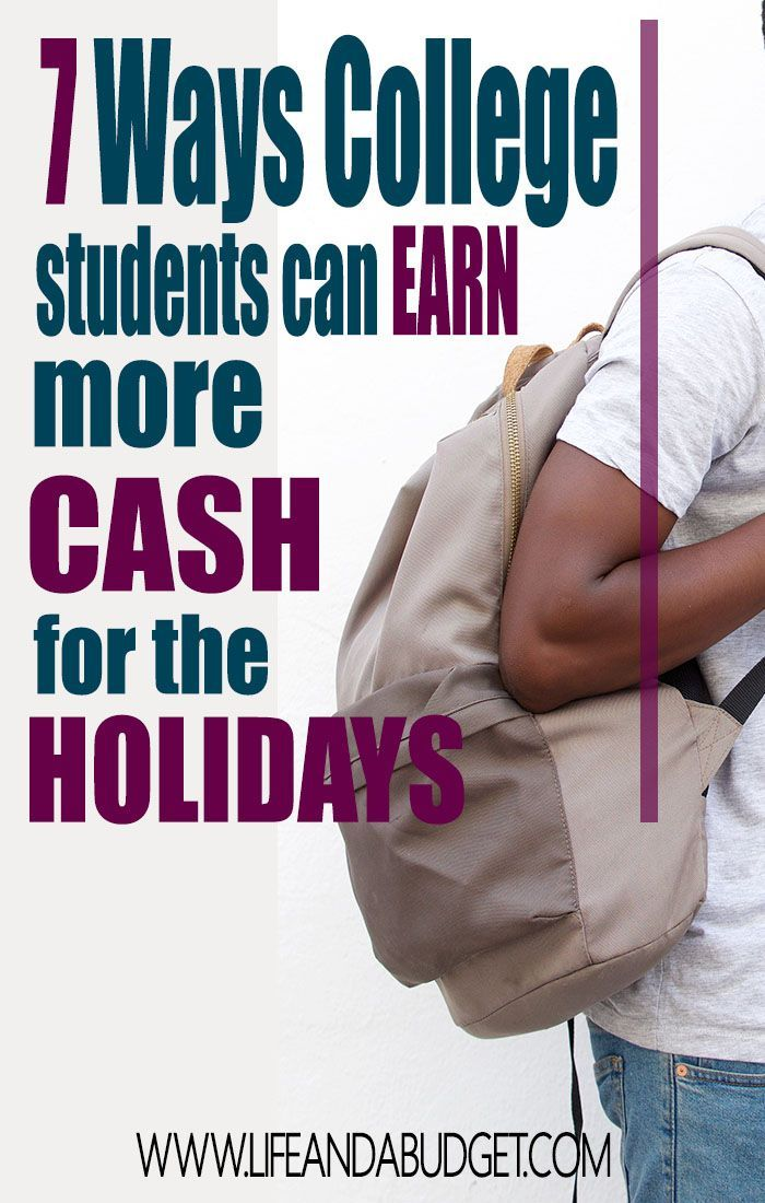 College students, there are a few effortless and easy ways to earn a few extra dollars to float you through the holiday season. All it requires is a little time and answers you already have. Read on to see how you can earn extra money this holiday.