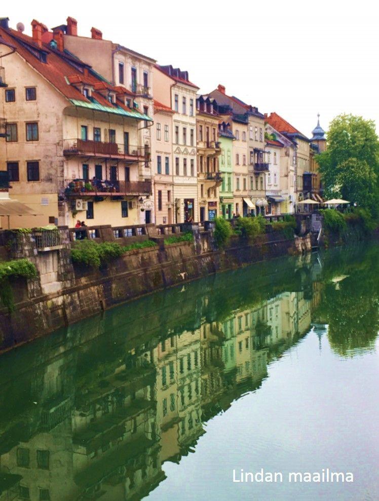 Ljubljana, Slovenia. Visited in spring 2017.