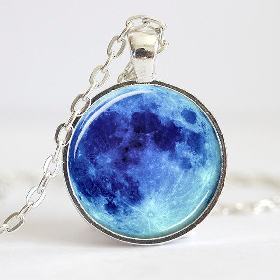 The moon on a chain dressing pinterest blue moon pendants and the moon on a chain aloadofball Images