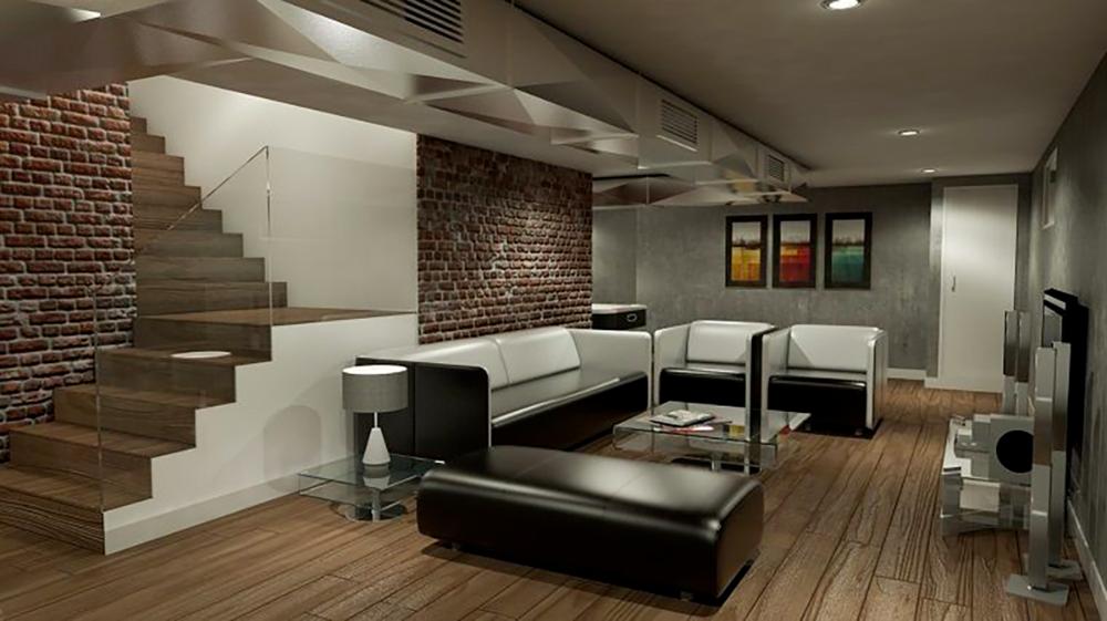 Ispirazioni per arredare la taverna in stile moderno nel ...