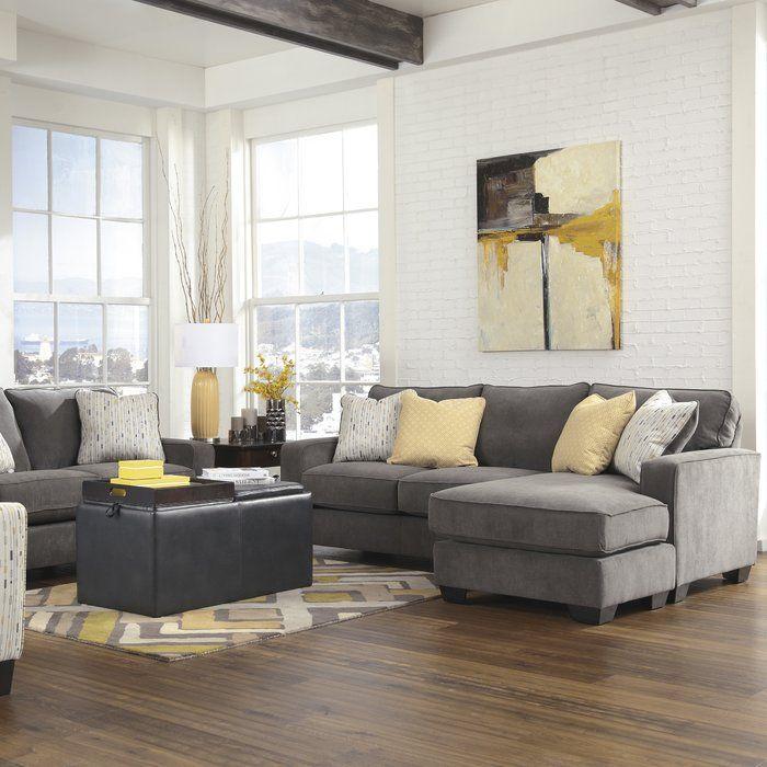 Arachne Sectional Home Decoration Salon Canap 233 Gris