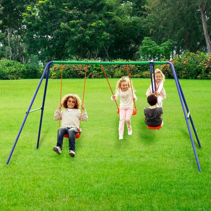 Delta Double Swing And Seesaw Swing Set Gifts Seesaw Double