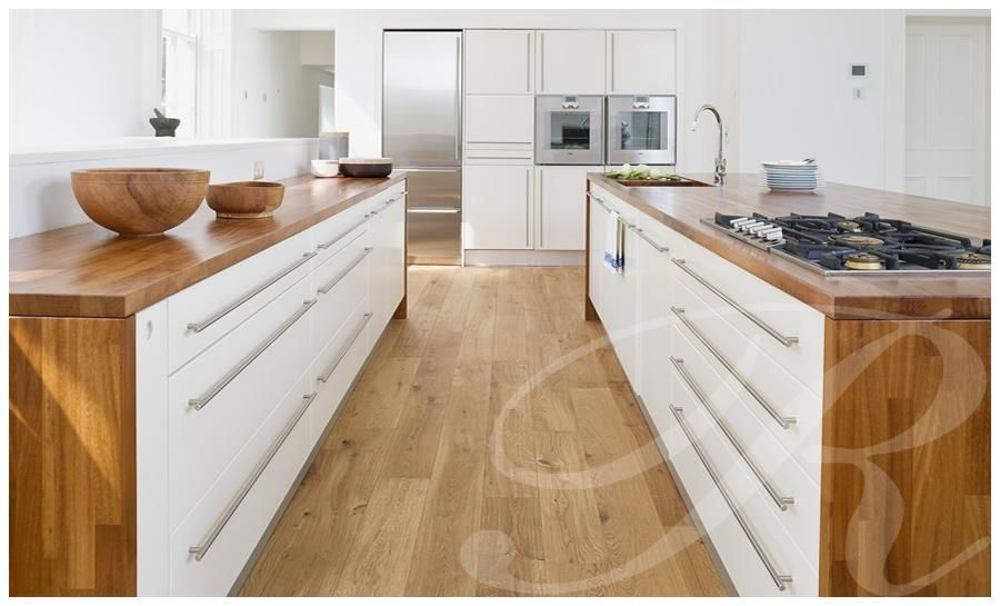 Best Modern Kitchen With Solid Teak Worktops With Images 400 x 300