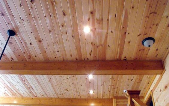 Car Siding Ceiling Pine Walls Knotty
