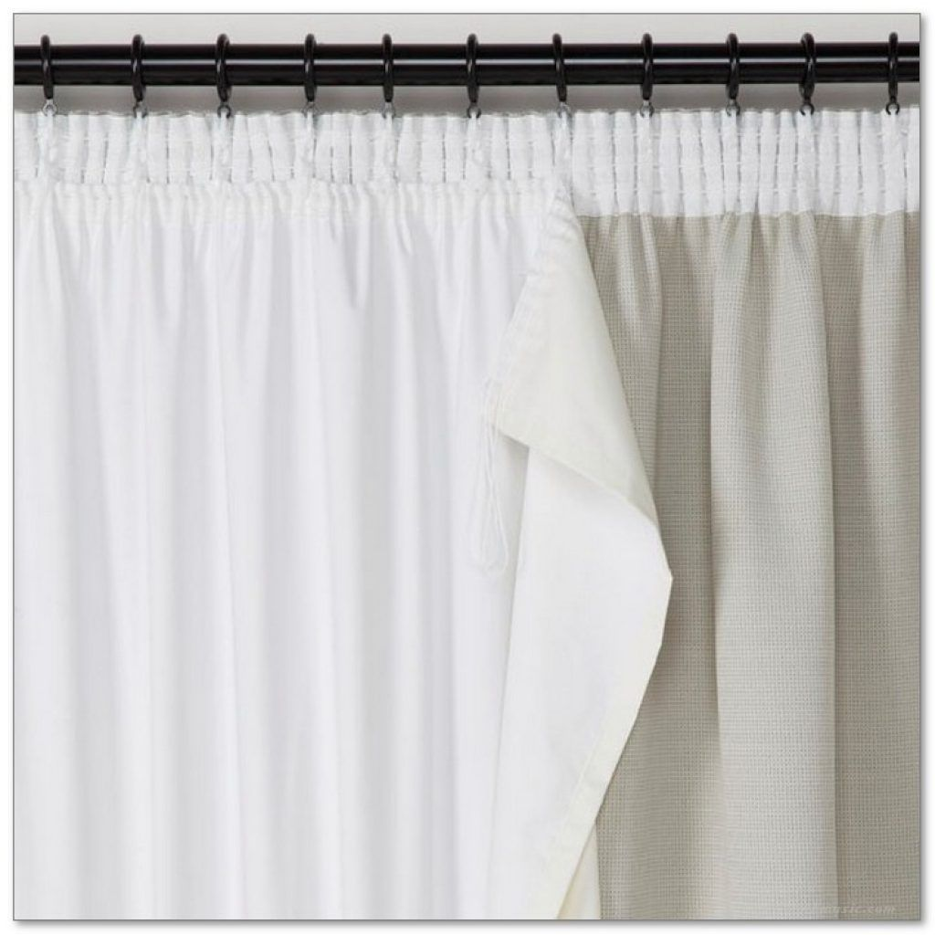 Blackout Curtain Liner More Than Just Light Blocker Lined