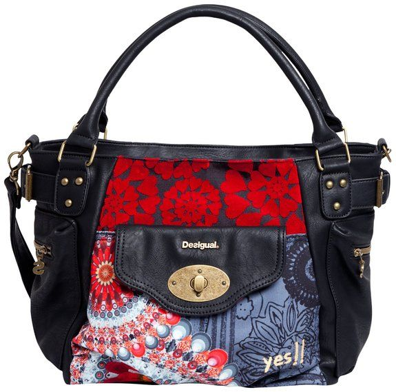 Desigual Womens Bols_Mcbee New Red Shoulder Bag Carmin