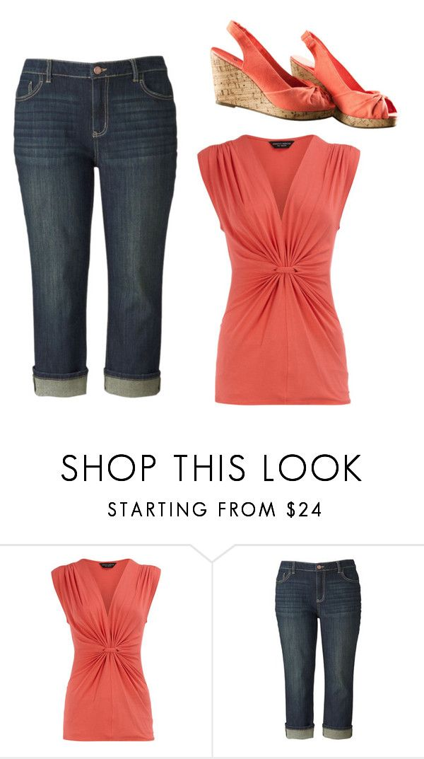 """""""Untitled #3583"""" by ania18018970 ❤ liked on Polyvore featuring Dorothy Perkins, Simply Vera and H&M"""