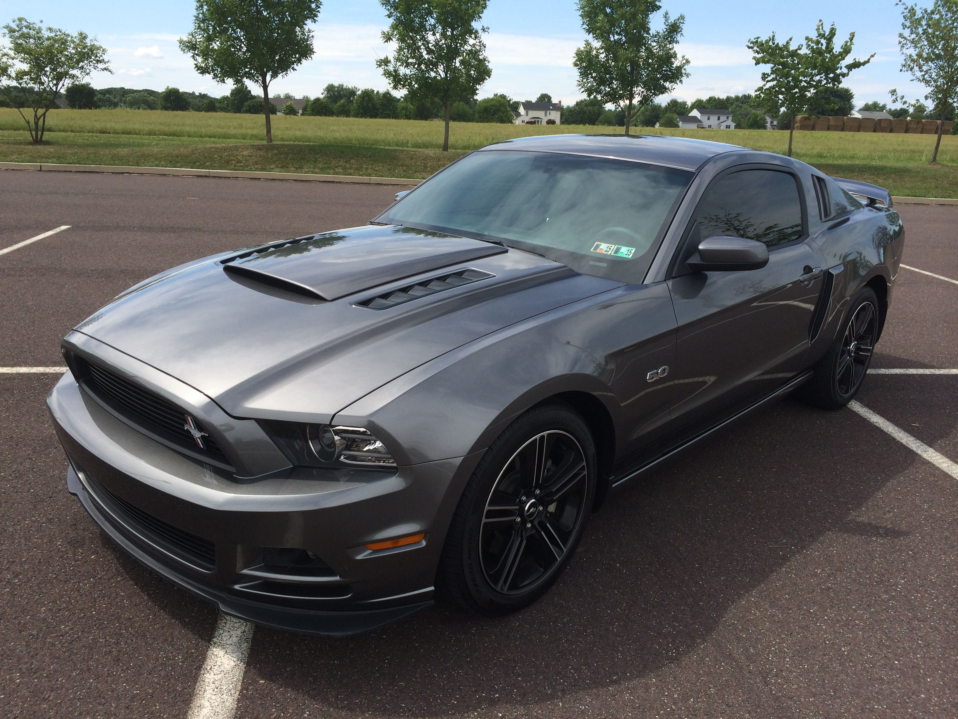 2014 Mustang Gt California Special With Rousch Hood Scoop Side